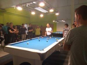 Erklärungen durch die Billiardprofis