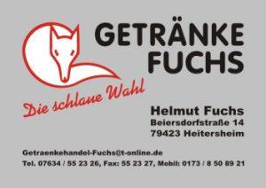 Sponsoren TTC Eschbach - Getränke Fuchs