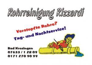 Sponsoren TTC Eschbach - Rohrreinigung Rizzardi
