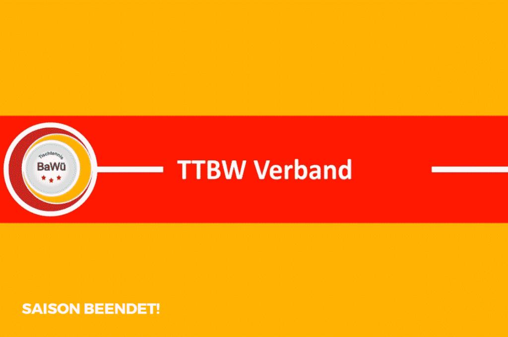 TTBW Saison abgebrochen